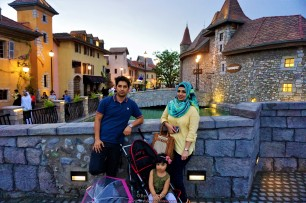 our cute little fam.... mashaa Allah :)