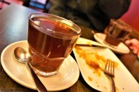 This is the traditional turkish tea we had in between strolling through the city's streets