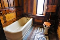 This was the only washroom on first floor - No attached bathrooms in the castle mannn