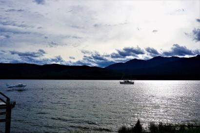 The beautiful Lake at Te Anau