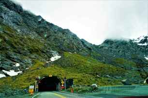 Homer Tunnel - one way it is