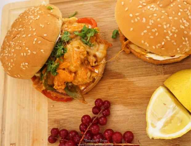 Chicken Fajita Burger 2