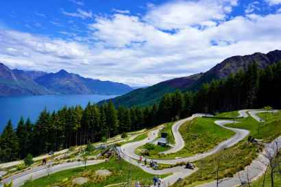 The Luge track