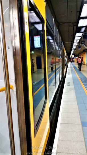 Platform and train...