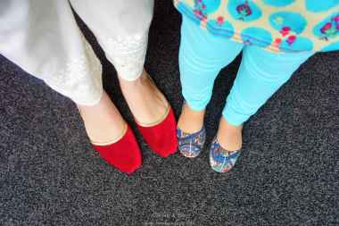 Mommy-Baby feet in fashion ;)