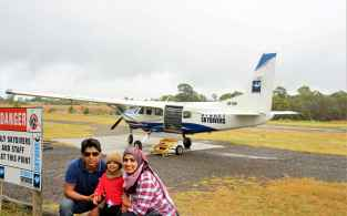 US with the plane we were eyeing to fly but alas!