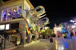 The funky elephants